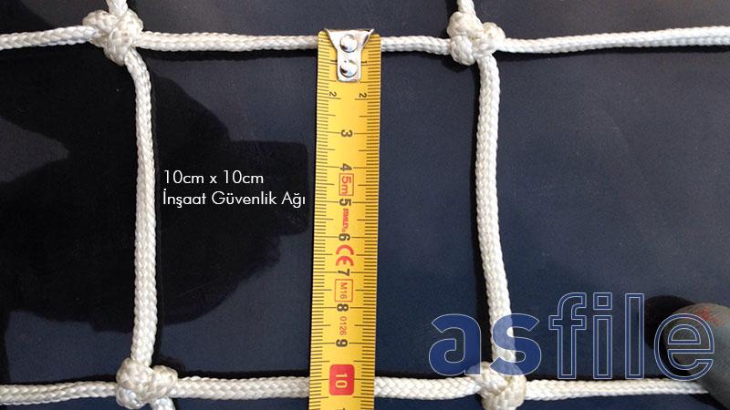 inşaat güvenlik ağı üretimi 10cm x 10cm 6mm
