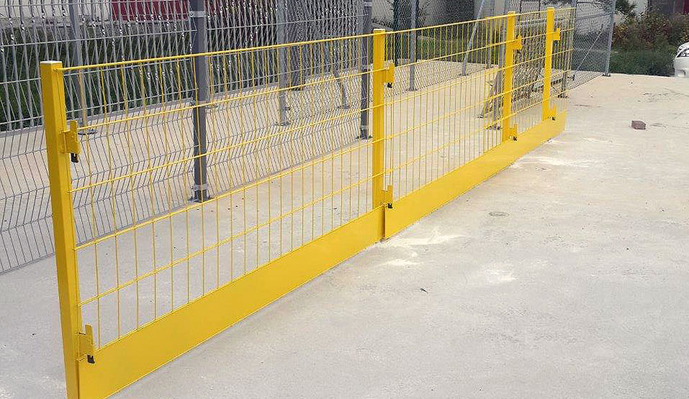 inşaat güvenlik paneli montaji